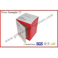 Buy cheap Customized Card Paper Electronics Packaging , 350gsm Display Box With Hanger And Window product