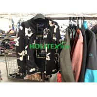 Quality Colorful Winter Mens Used Clothing , American Style Second Hand Mens Jackets for sale