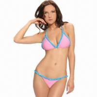 Quality Ladies's swimsuit, made of nylon and spandex for sale