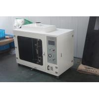 Quality Custom Made White Horizontal Flammability Tester For Accordance Cable for sale