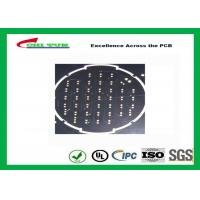 China Black Solder Mask Round 2 Layer PCB Surface Treatment HASL PCB Board Assembly on sale