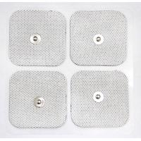 Quality White Cloth Reusable TENS Pads , Self-adhesive Electrode Pads with USA Tyco for sale