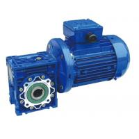 China RV Aluminum Alloy Worm Gear Reducer With Small Gear Motor And Extension Shaft on sale