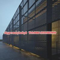 Quality Architectural expanded metal building facade solution for sale