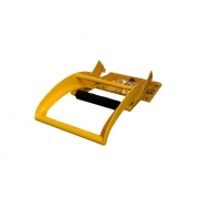 Quality Traffic Yellow Aluminum Portable Vehicle Barriers Foldable for sale