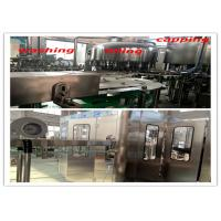 Buy cheap Plastic Water Bottle Filling Machine With Food Grade SUS 304 Stainless Steel product