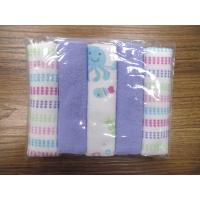 China 10 pk baby girl face cloth on sale