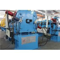 Quality Galvanized Steel Downspout Roll Forming Machine Hydraulic Decoiler 1 Inch Chain 3 Ton for sale