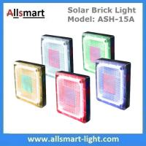 China 8x 8 inch Square Solar Paver Lights Patio Solar Brick Lights Garden Landscaping Solar Underground Inground Lights on sale