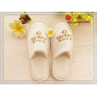 Quality Disposable Wholesale New Design Popular Terry Cloth Hotel Slippers for sale