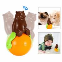 Buy Pet Dog And Cat Toys Shaking Around Bear Funny Tumbler 0.75lb Lightweight at wholesale prices