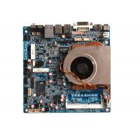 Industrial Thin-Mini-ITX Motherboard Support full-HD 4K Vedio / 3 Screens Independent Display