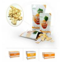 Buy cheap Bulk package crunchy pineapple crisps professional manufacturer in China from wholesalers