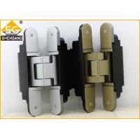 Buy cheap Middle Duty Zamak Invisible Door Hinges 180 Degrees Of Security Door from wholesalers
