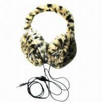 Quality Ear muff, made of 100% polyester for sale