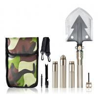 Quality Multifunctional Military Folding Shovel For Camping Hiking High Carbon Steel for sale