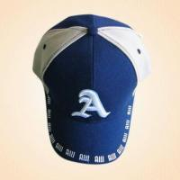 Quality 100% Cotton Baseball Cap with 3-D Embroidery and Two-color Combination for sale
