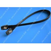 China Computer Serial Attached SCSI SAS Cable SFF 8087 To SFF 8087 Tinned Cooper Conductor on sale