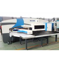 Quality Servo Motor Driven Ram CNC Punch Press Machine With FAGOR Control System for sale