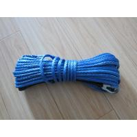 Buy cheap winch rope /UHMWPE ROPE/ UHMWPE towing rope/1500-2000lb winch rope / synthetic winch rope/Blue color kevlar winch rope from wholesalers