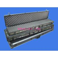 Quality Black Aluminum Hard Rifle Case , Army Gun Carrying Case For Packing Guns for sale