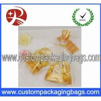 China Plastic Flat Bottom Bag / Clear OPP Bag Bread Packing Biodegradable on sale