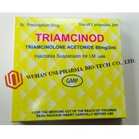 Quality Organic Chemcials Triamcinolone Acetonide Injection Medicine 80mg / 2ml Ceramic White Word , Brown for sale