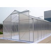Quality 6mm Hollow One Stop Gardens Greenhouse , Transparent PC Sheet Greenhouse for sale