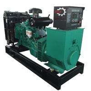 China 125Kva Diesel Generator Cummins Power 6BTA5.9-G2 Rating 1500RPM Open Genset on sale
