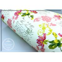 Quality Pretty Rose Scented Drawer Liners Sheet With Custom Printed for sale