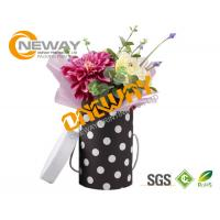 Flower Print Black Rose Gift Wrapping Boxes With Recycled Materials