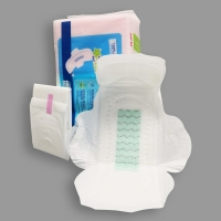 Quality Disposable Leak Guard natural Long Overnight Sanitary Pads for sale