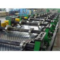 Follow Cutting Cable Tray Roll Forming Machine 50-150mm Thickness Punching Mould