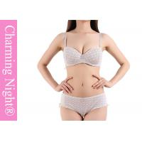 Quality Comfortable Cotton Women Young Girls panty and bra / beautiful bra sets for sale