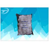 Buy cheap Absorbent Dental Medical Cotton Wool Balls Absorbing Blood Round Shape product