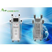 Quality Cryolipolysis burn fat freezing machine, 4 interchangeable handles for sale