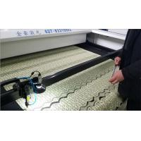 Quality Knitting Curtain Automatic Leather Laser Cutting Machine Cutting Speed 0 - 48000mm \ Min for sale
