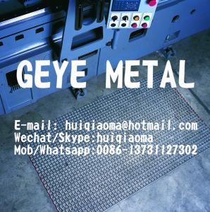 Quality Heavily Galvanized All-Steel Drag Mats, Workshop Floor Mats, Flexible Metal Door Mats, Steel Mesh Drag Screens for sale