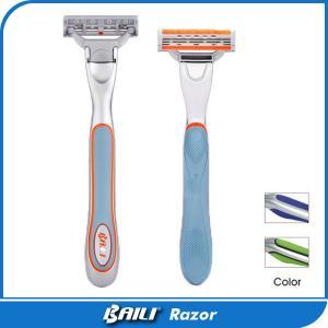 Buy Colorful Metal Handle Multi / Single Blade Razor For Men Gromming Shaving at wholesale prices