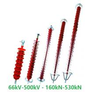 Buy cheap 66kV-1000kV high tension insulators polymer insulator composite insulator from wholesalers