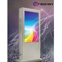 Quality 55 inch Waterproof Outdoor Digital Signage High Brightness LCD Display Totem 24 hours working for sale