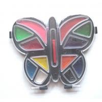 Buy Butterfly-shaped water color painters set with paint brush at wholesale prices