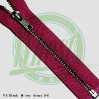 Quality metal zippers for sale