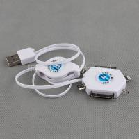 Quality 6 in 1 Retractable Charging Cable for iPhone 5 for sale