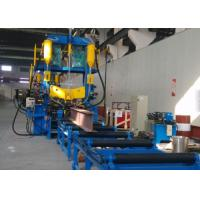 China Steel Section Making H Beam Assembly Machine Steel Bar Making Line 20m / min on sale