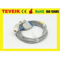 Buy cheap Reusable Mindray ECG Cable Round 12pin For Patient Monitor 5 leads from wholesalers