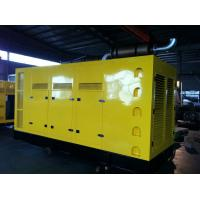 Quality 728KW / 910KVA V800C Quiet Diesel Generator Silent Type for sale