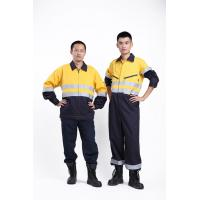 Quality High Visibility Flame Retardant Coveralls Clothes for Men Worker EN11612 NFPA2112 for sale