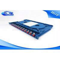 Quality 300 * 180 * 25mm Optical Fiber Patch Panel Rack Mount ODF For Indoor / Outdoor for sale