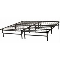 Buy cheap Adjustable Wire Mesh Metal Frame Bed Queen Size Long Lasting Folding Metal Bed product